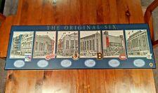 NHL Original Six Wooden Plaque (Stadiums)