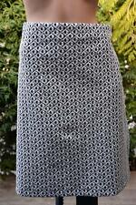 Katies Geo Print Pull on Skirt Size 1xl-20 Comfy Elastic Waist. -