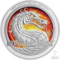 2020 - Mortal Kombat -  1oz Silver Coin SOLD OUT AT THE MINT
