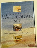 The Complete Watercolor Set by David Norman Hardcover Box Books & Painting Kit