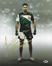 YAIR PANTERA RODRIGUEZ SIGNED AUTO'D 11X14 PHOTO BAS COA UFC 197 192 188 180 F