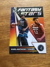 Karl-anthony Towns: Frantasy Stars: 2019-20 Panini Donruss Basketball