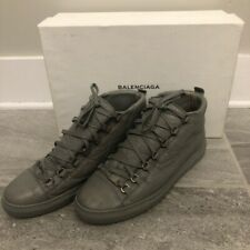 Balenciaga Arena Leather High Top Gris Nuage shoes size 43