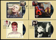 2017 David Bowie Live set of 11 special handstamps on Front. Unaddressed