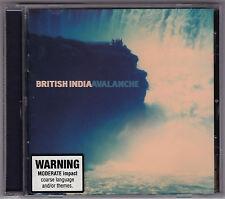 British India - Avalanche - CD (BID002 Shock Australia)