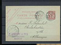 557509 / Frankreich Ganzsache