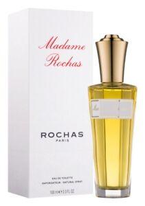 Parfum ROCHAS MADAME ROCHAS EAU DE TOILETTE 100ML Neuf Sous Blister Authentique