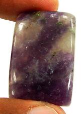 50.70 CT Naturel Violet Lepidolite Desseré Pierre Précieuse Cabochon Cab - 25872