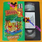 VHS film WINNY PUH Tutti per uno 1994 DISNEY VS 8003 animazione (F134*) no dvd
