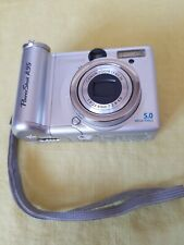 Canon PowerShot A95 5.0MP Digital Camera - Silver excellent conditions