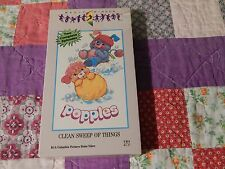 Popples - Clean Sweep of Things (VHS, 1986) *NEW* SEALED (Free Ship.) Animation