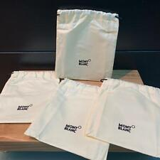 Mont Blanc Official Pack of 4 bags NEW