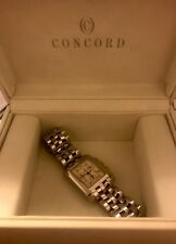 Concord Sportivo 14.H1.610 H.F. SS chronograph quartz men's watch w/ diamonds!