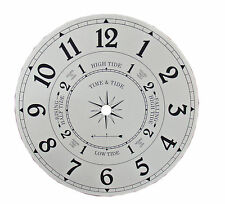 "NEW 6-7/8"" Metal Time and Tide Clock Dial (DM-01-6)"