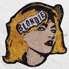 Blondie Logo Embroidered Patch Rock Band Debbie Harry Chris Stein Clem Burke