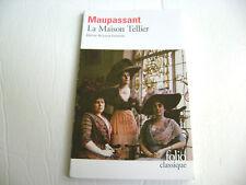 Maupassant - La Maison Tellier (Folio Classique) Édition de Louis Forestier