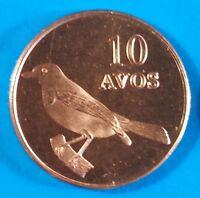 Oecusse 10 avos 2015 UNC Bird East Timor Oecussi unusual coinage