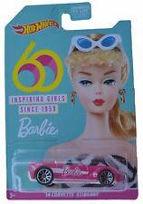 Hot Wheels Barbie '14 Corvette Stingray, pink