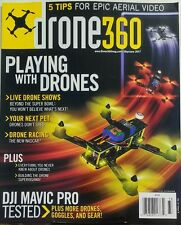 Drone 360 May June 2017 Playing With Drones Tips Aerial Video FREE SHIPPING sb
