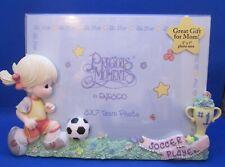 Precious Moments~5 x 7 Frame~Girl~#1 Soccer Player~1997