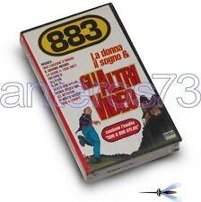 """883 MAX PEZZALI """"LA DONNA IL SOGNO E"""" RARA VHS SIGILLAT"""