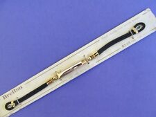 """NEW BRETTON 12K Gold Filled Ladies Rope/Cord Watch Band..5 7/8"""" Long"""
