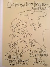 Pablo Picasso Poster,Tipped In, Offs.Lithograph,1971 Nr10, Henri Tronche