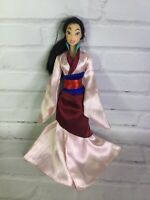 Mattel Disney Princess Mulan Doll With Asian Dress Outfit 2006 Great for OOAK