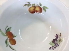 Royal Worcester Evesham Gold Fine Porcelain LARGE RIMMED SERVING BOWL ENGLAND