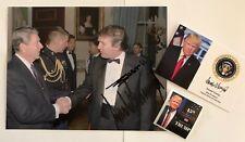 "Donald Trump & Ron Regan 8 1/2""x11 on Card Stock.. Photo Portrait Picture + 4x6"