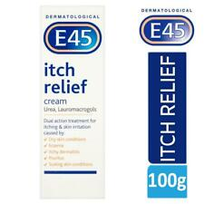 E45 Dermatological Itch Relief Cream Treats Dry,Itchy Skin & Eczema 100g