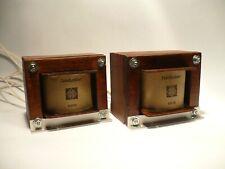 2x vintage SE interstage transformer Telefunken for EF14 417A 6AH6  Wood bobbine
