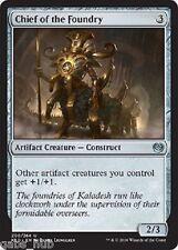 CHIEF OF THE FOUNDRY Kaladesh Magic MTG cards (GH)