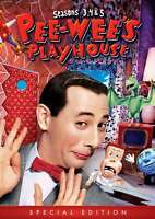 New: PEE-WEE'S PLAYHOUSE - SEASONS 3, 4 & 5 (Special Edition) 4-DVD Set