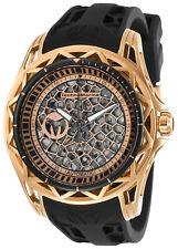 TechnoMarine Men's Technocell TM-318021 47mm Black Dial Silicone Watch