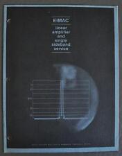 Original Vintage Eimac Linear Amplifier/Sngl Sideband Application Bulletin #12