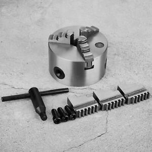 Lathe Chuck 3-Jaw Lathe Chuck High Hardness for Non-metallic Machine Tools