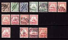 GERMAN POST OFFICES SOUTH WEST AFRICA :  Valuable used lot as per scan.