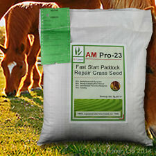 A1LAWN AM PRO-23 FAST START PADDOCK REPAIR GRASS SEED 20kg (DEFRA certified)