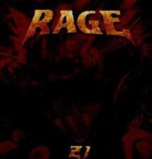 RAGE - 21 (Digibook,2 CDs) Autogramme von Peavy & Smolski / Top !