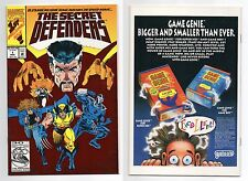 SECRET DEFENDERS (1993) #1 NM 1ST APPEARANCE TOKAMAK/DECIMATOR/DREADLOX! MARVEL