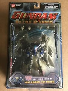 Bandai GUNDAM BATTLE SCARRED WING GUNDAM ZERO CUSTOM  #11463 Action Figure