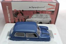 1-18 Austin Mk1 Cooper S Blue #08106b Kyosho Diecast Car 50th Anniversary Mini.
