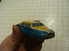 Vintage tin friction car: TAXI, marked TN japan, clean, light wear only