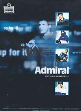 Admiral Autumn-Winter 98 Clothing 1998 Magazine Advert #4440