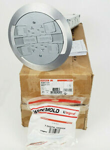 Wiremold Legrand RC4ATCAA RC4 Series Poke-Thru Devices Flush Assembly, New!