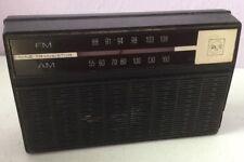 Vintage RCA Transistor Radio RGM29E AM/FM Battery Operated Compact Nine 9 Works!