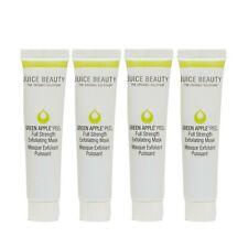 NEW❤4 PC❤ Juice Beauty Green Apple Peel Full Strength Exfoliating Mask .5 oz