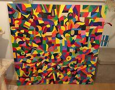 """Nuevo Indre vilke Lona Original """"el circo Muse Pintura Abstracta Arte Popular"""""""