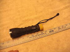 CSX Transportation Co.  Rubber Armored LED Flashlight, Works !